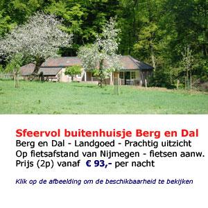 bed and breakfast Bergendal Groesbeek